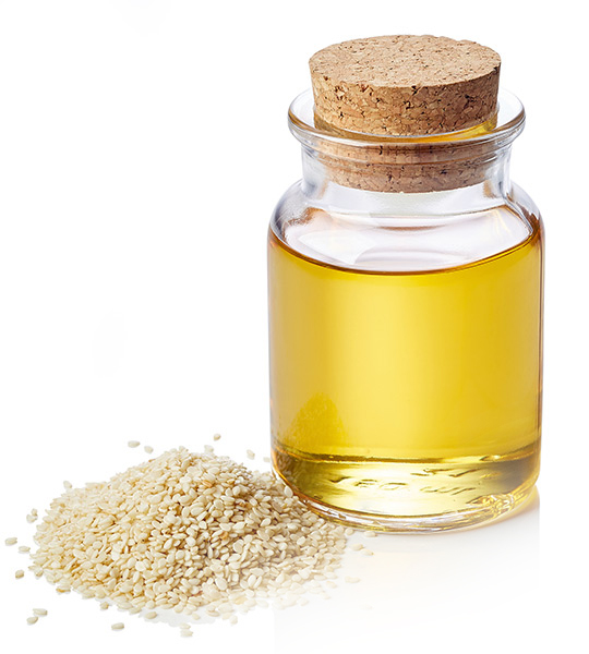 Sesame oil for abhyanga